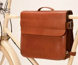 Retrovelo Leather Frame Bag