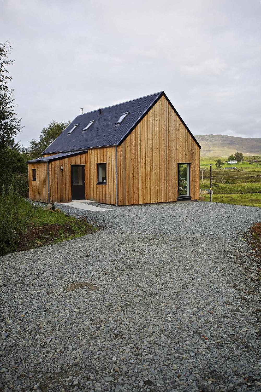 r house on the isle of skye rural design architects. Black Bedroom Furniture Sets. Home Design Ideas