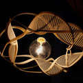 Ribbons of Life lamp from Charlwood Design