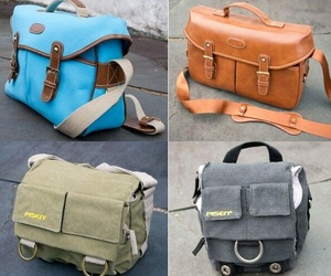 RIGU Leather Bags for DSLR Cameras