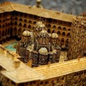 Rila Monastery Model With Six Million Match Sticks