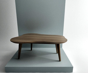 Risom Amoeba Coffee Table