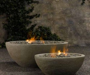 River Rock Fire Bowl from Restoration Hardware