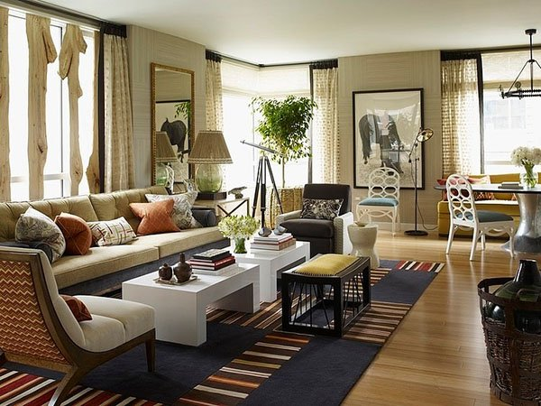 Tom Filicia riverhouse apartment by thom filicia