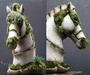 Robert Cannon Creates Magic with Moss and Concrete