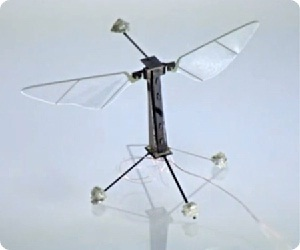 RoboBee's First Controlled Flight