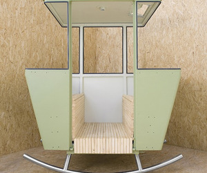 'Rock' Cable Car Chair by Adrien Rovero
