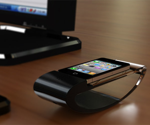 Rocking iPhone Dock Concept