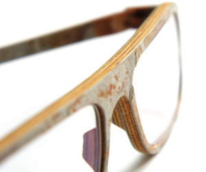 Rolf Unique Wooden Eyeglasses Frames
