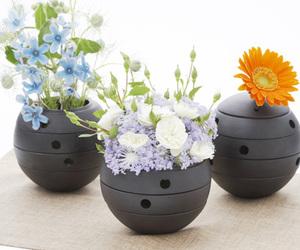 Rolo Cast Iron Vase by Toshiyuki MATSUDAIRA