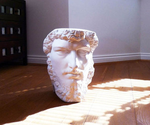 Roman-inspired Bust Speakers