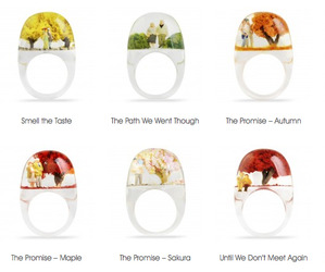 Romance in Resin Rings