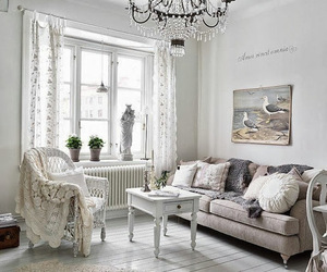 Romantic and feminine interior