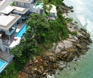 Romantic oceanfront holiday home in Phuket