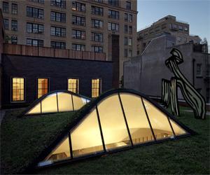 Roof Garden Design by Caliper Studio
