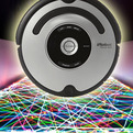 Roomba Photographic Light Art