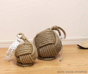 Rope Knot Door Stopper