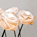 Rose blossom lamp by Lasvit
