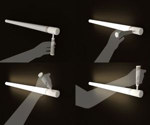 Rotate the 'Lever' to light up your home