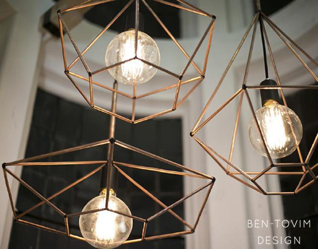 Rough Diamond Pendant Lamp By Jonathan Ben Tovim
