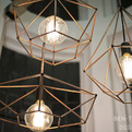 Rough Diamond pendant lamp by Jonathan Ben-Tovim