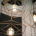 Rough Diamond pendant lamp by Jonathan Ben-Tovim