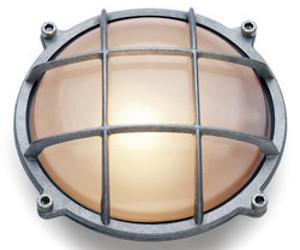 Round Aluminium Wall Lamp
