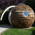 Round and Radical Prefab Office Pod