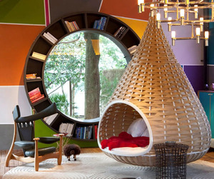 Round Window Bookcase