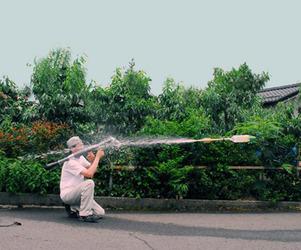 RPG-7 Water Bottle Launcher
