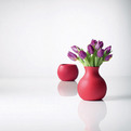Rubber, Unique Flower Vase by Menu