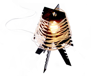 Runaway Lamp by Maja Uzarowicz