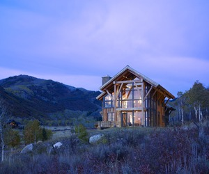 Rustic eco-home in Colorado by Gerber Berend