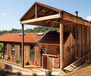 Rustic retreat in the Santa Cruz Mountains