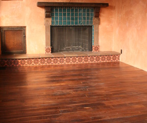Rustic Walnut Flooring with Original Texture