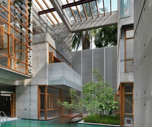SA Residence in Dhaka by SHATOTTO
