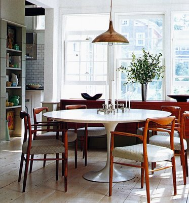 saarinen 54 inch round dining table  rh   materialicious com