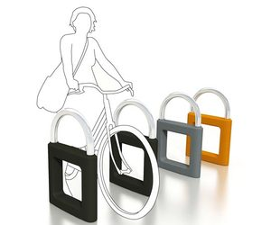 Safe bike rack by The Emotion Lab