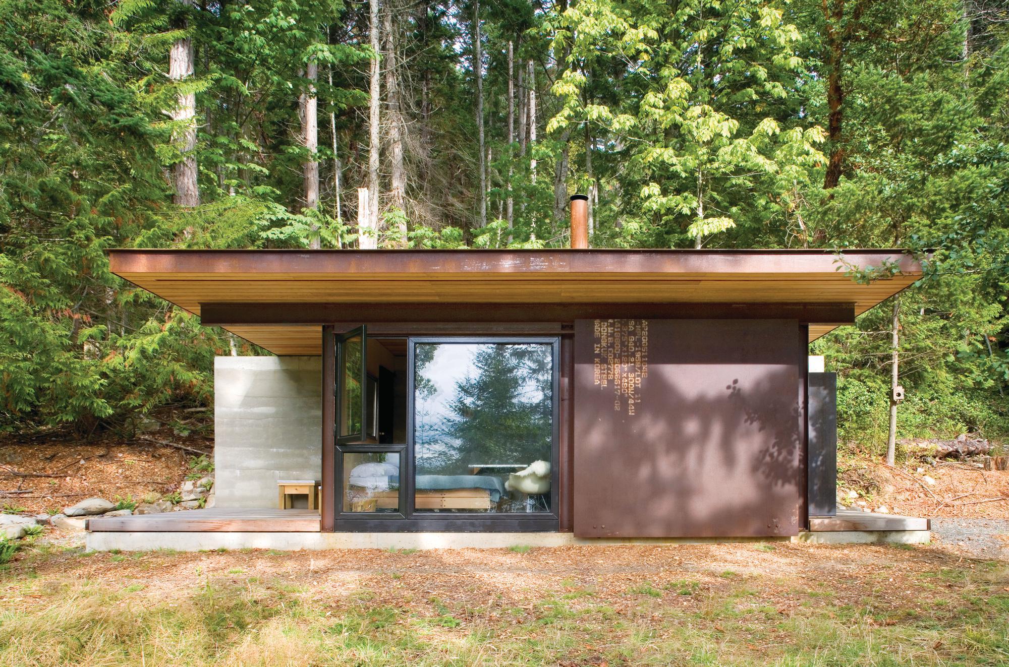 salt spring island cabin olson kundig architects