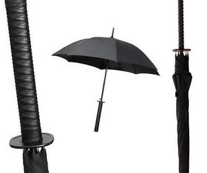 Samurai Umbrella by KIKKERLAND