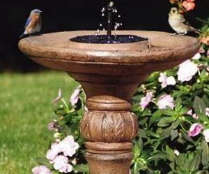 San Remo Solar Bird Bath