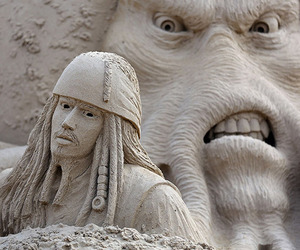 Sand Sculpture Festival in England