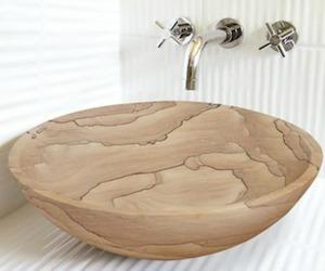 Sand Stone Vessel Sink | Lenova Sinks
