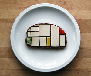 Sandwiches Recreate Famous Paintings & Sculpture.