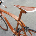 Sanomagic, Mahogany Bicycles by Sueshiro Sano