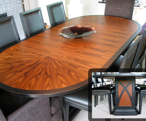 Santos Rosewood Dining Table