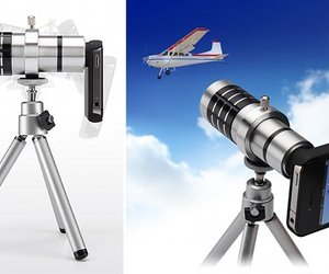 Sanwa iPhone 4, 4S Telephoto Zoom Lens x12 zoom camera lens
