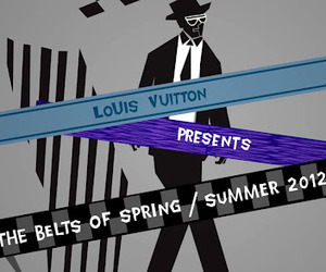 Saul Bass Inspired Video for Louis Vuitton