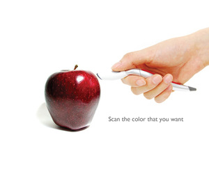 Scan-and-Draw Color Sensing Pen by Jinsun Park