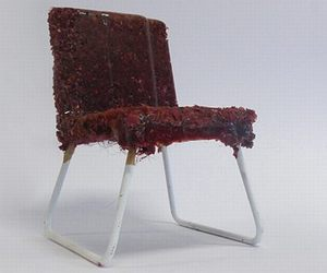 Scary Chair Recycled Materials by David Mahoney,